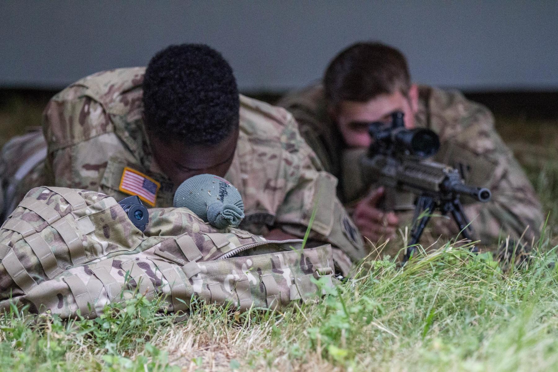 Drawn snipers army person Soldiers U Romania train ORIGINAL