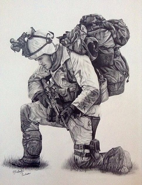 Drawn snipers army person About best 17 Army drawing