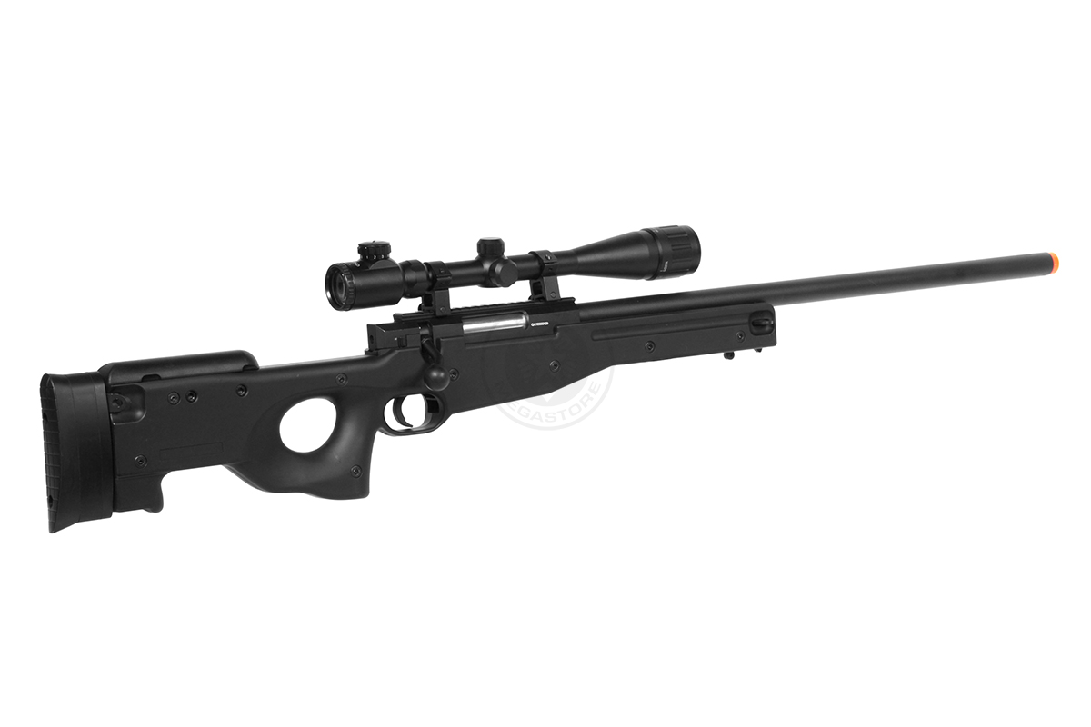 Drawn snipers bolt action rifle Action MK96 Mission GUN