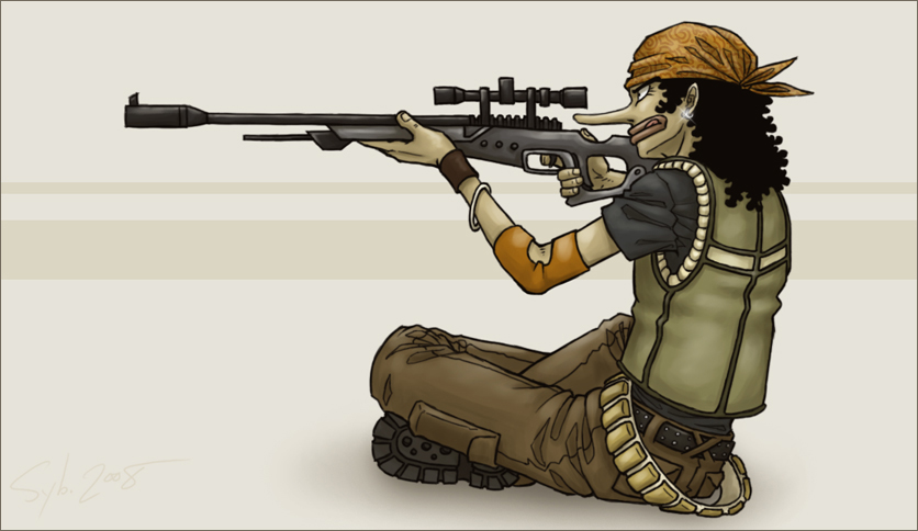 Drawn snipers cartoon Sniper SybLaTortue by Sniper on