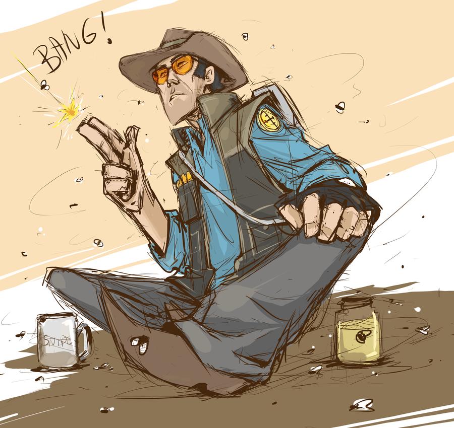 Drawn snipers cartoon Kanda3egle com  com by