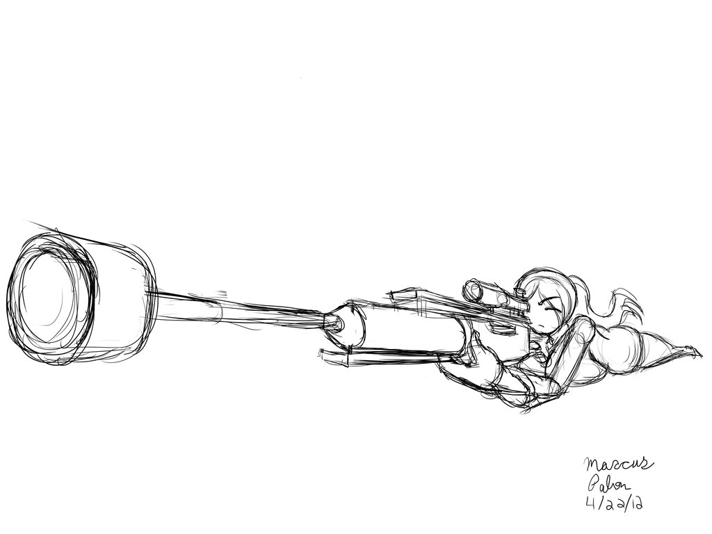 Drawn snipers cartoon By April DeviantArt by Sniper