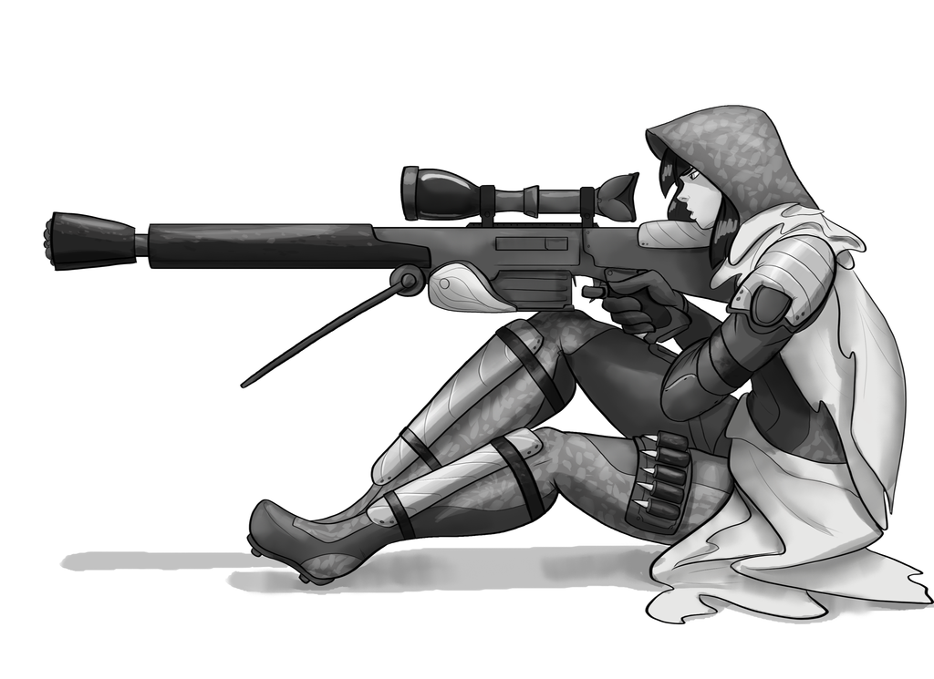 Drawn snipers cartoon Sushi by DeviantArt Sniper Day