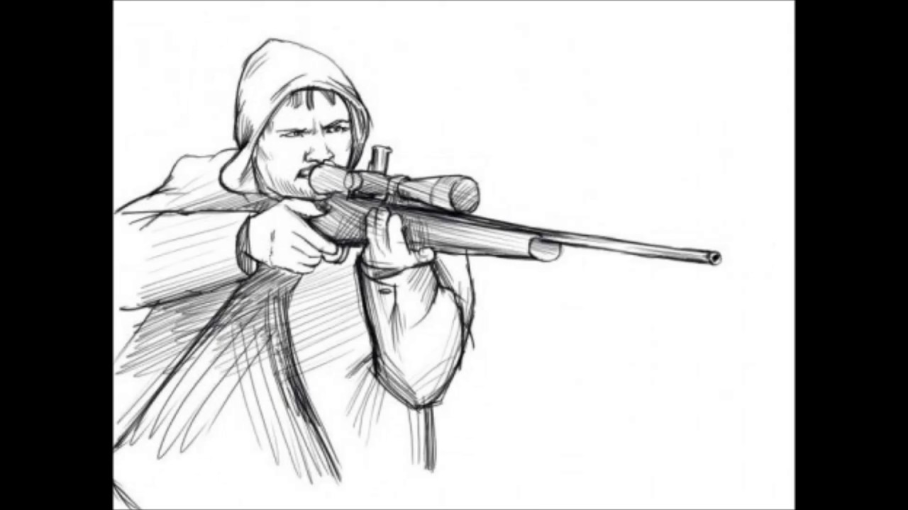 Drawn snipers cartoon A How A To How