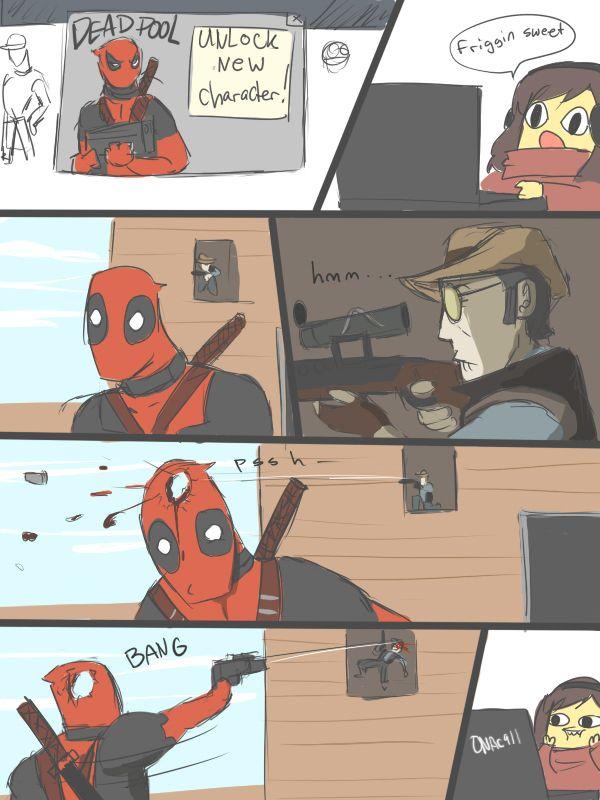 Drawn snipers comic #10