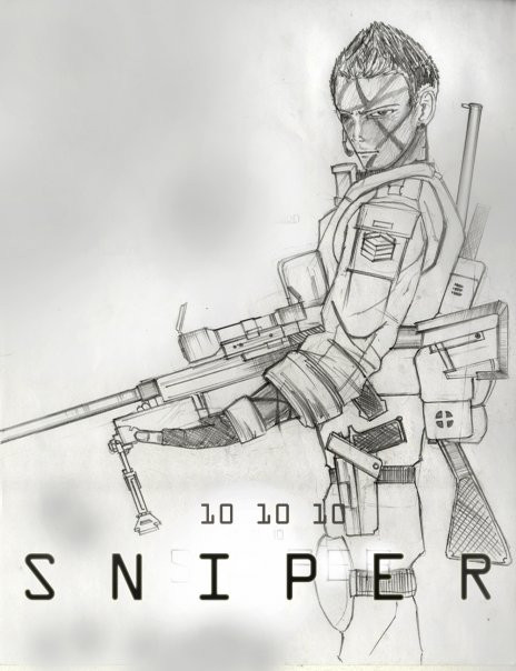 Drawn snipers comic DeviantArt on WhiteHawk91 Comic by