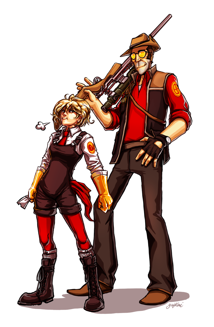 Drawn snipers fire And by yuikami by Transporter
