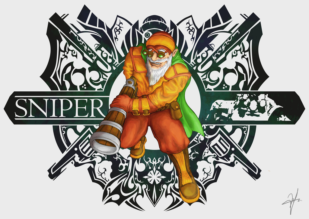 Drawn snipers kardel Seaedge Sniper) Sharpeye on by
