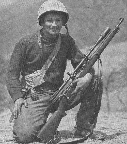 Drawn snipers korean war S 42 USMC WEATHER jpg