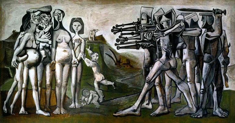 """Drawn snipers korean war Barbarism """"Massacre Korea"""" 1951 in"""
