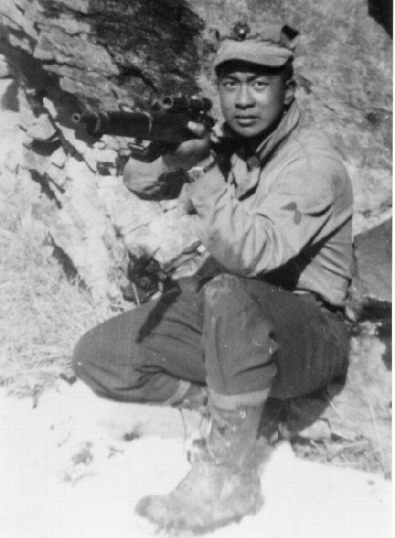 Drawn snipers korean war In Korean view) Wong Herb