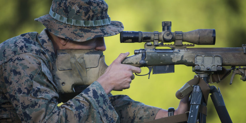 Drawn snipers marine sniper Learned  Things Sniper School