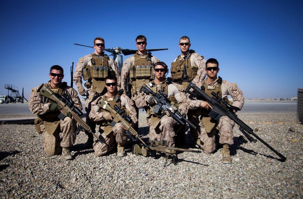 Drawn snipers marine sniper By US Scout Wallpaper WallpaperSafari