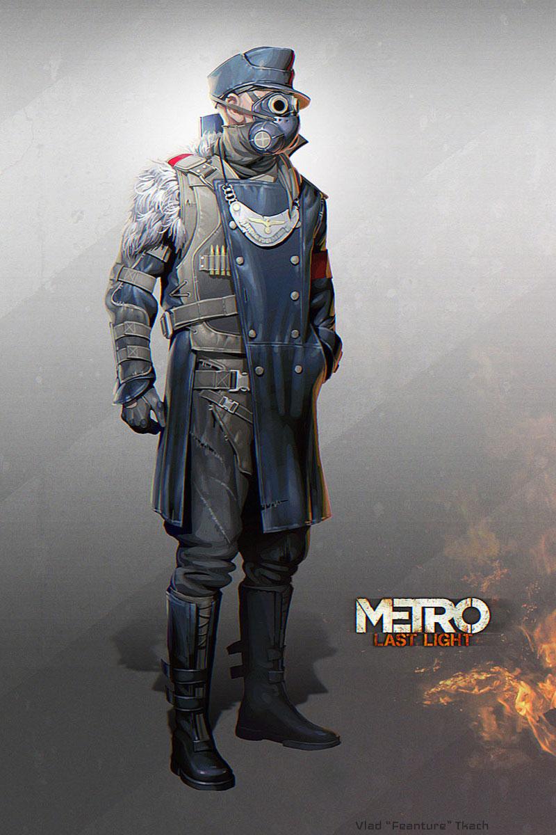 Drawn snipers metro last light Metro: Light Last of