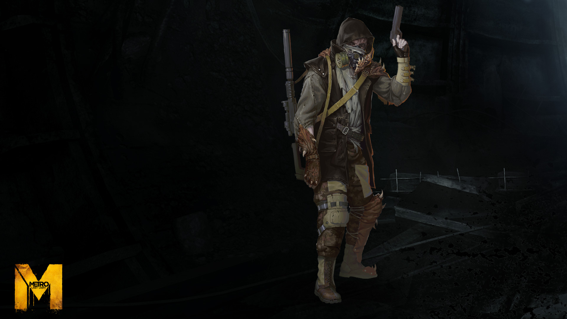 Drawn snipers metro last light Showcase Card :: :: Steam