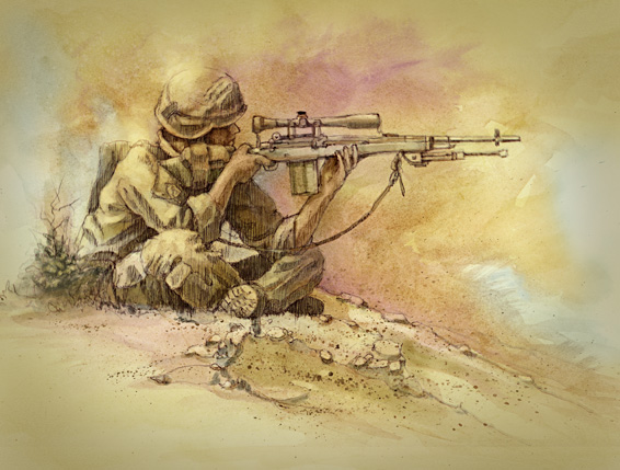 Drawn wars army Mitchel  Sniper Steve Pinterest