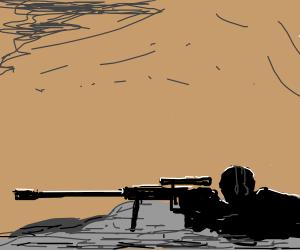 Drawn snipers prone Prone sniper by sniper AE)