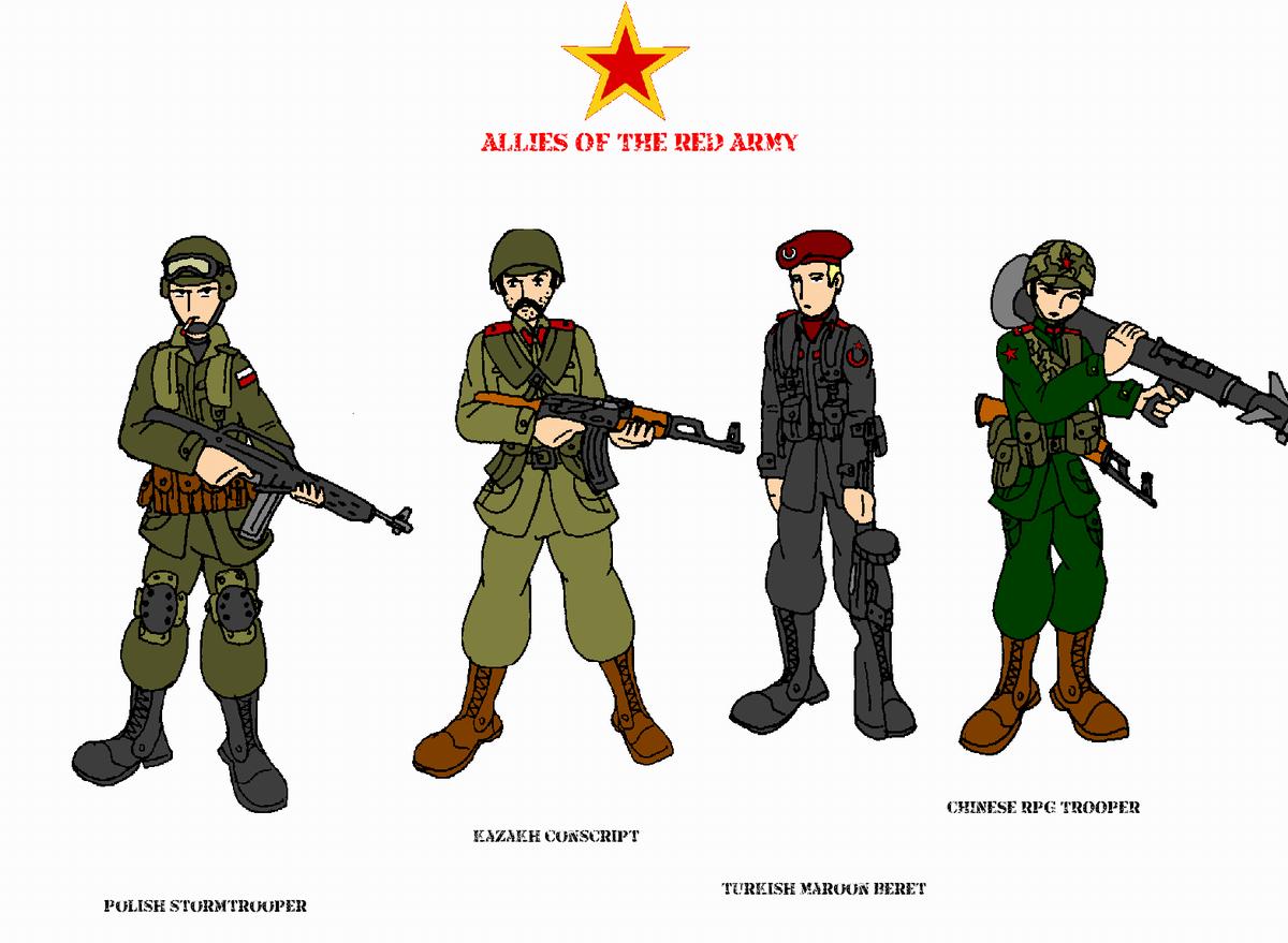 Drawn snipers red army Army Allies Red AlexeiKazansky CommissarKinyaf