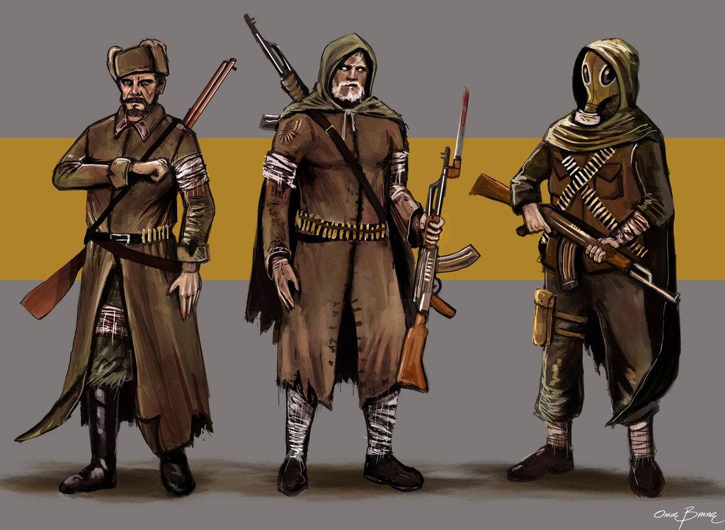 Drawn snipers red army Redarmy Giuzzys bakarov by on