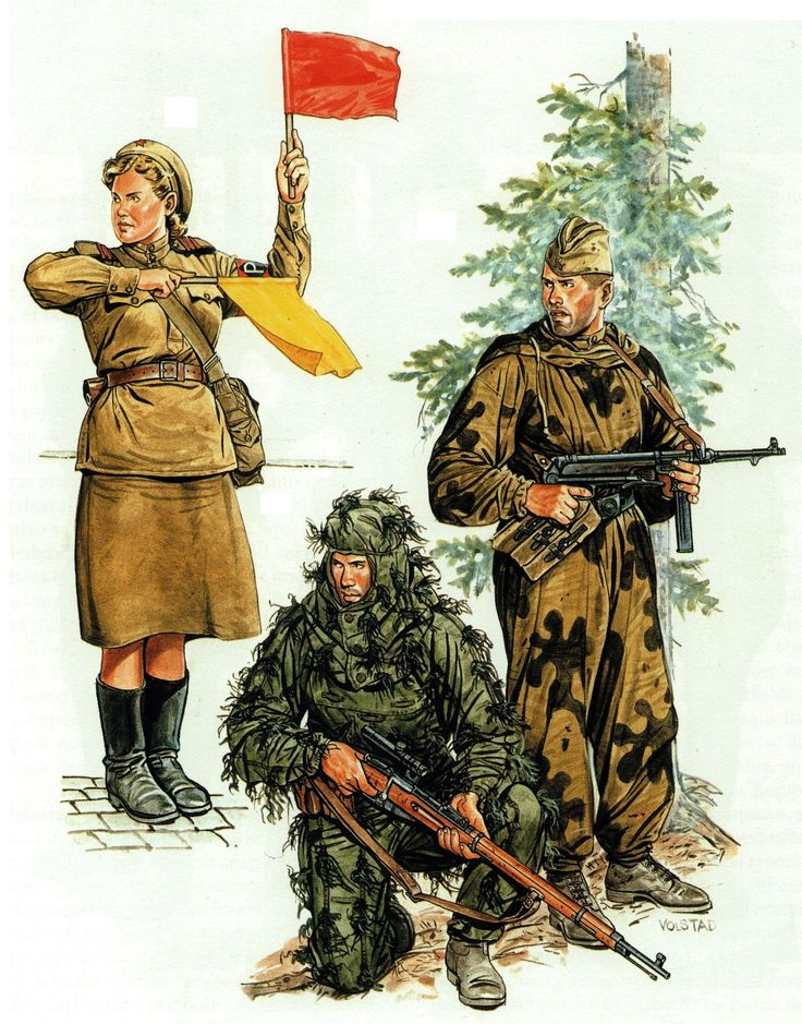 Drawn snipers red army Images uniforms sergeant Pinterest Soviet