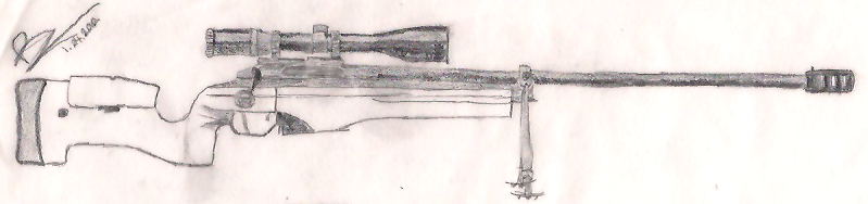 Drawn snipers sketch #11