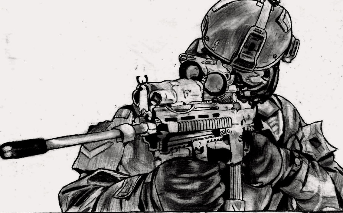 Drawn snipers sketch Casey5000 Sniper Casey5000 Sniper by