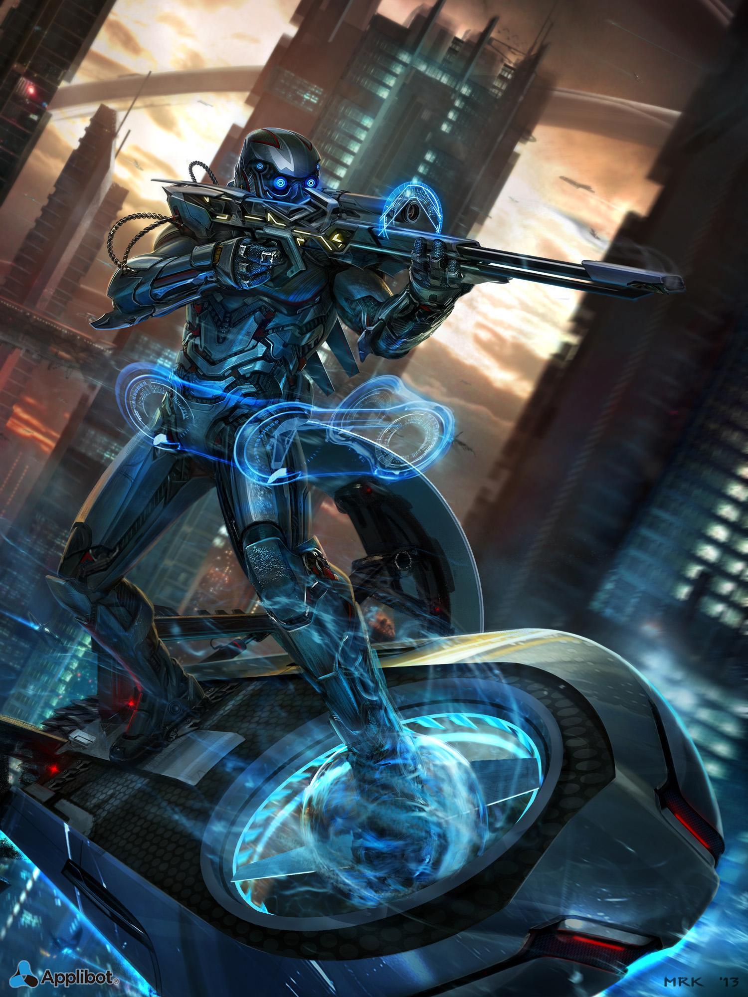 Drawn snipers space By @deviantART  MRK deviantart