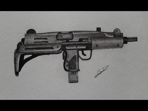 Drawn snipers uzi Comment How Uzi Mitrailleur to