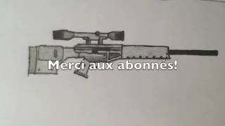 Drawn snipers uzi Comment draw How · Comment