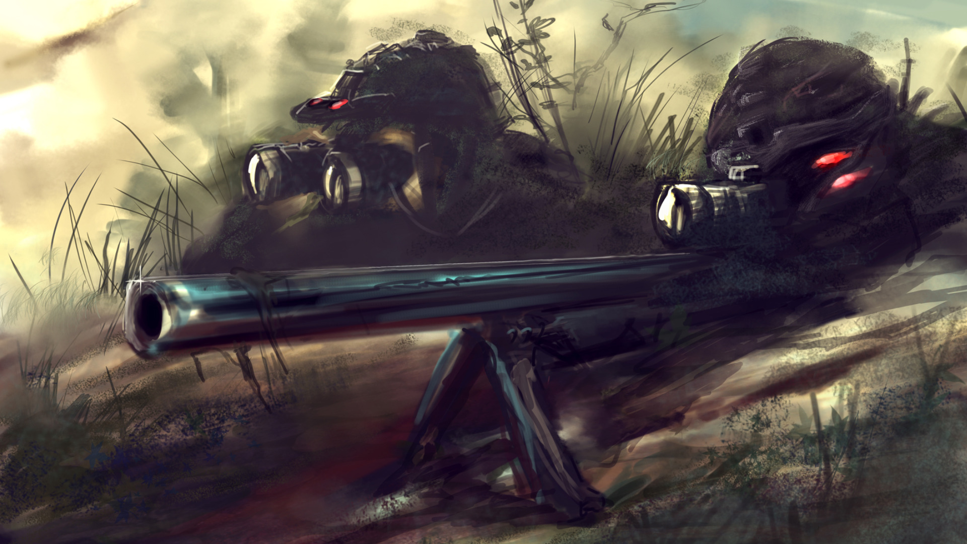 Drawn snipers wallpaper For Download Images Top Sniper