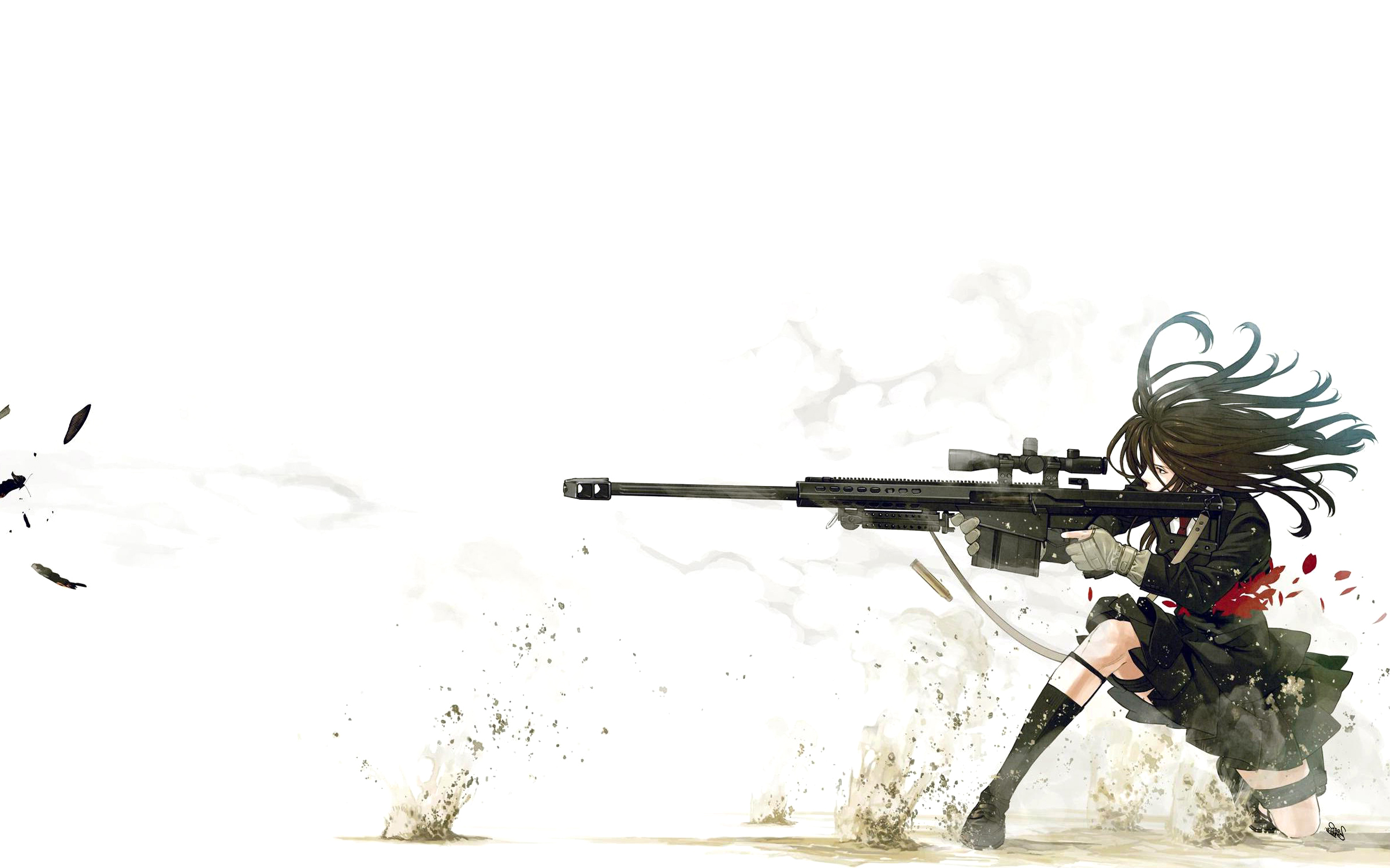 Drawn snipers wallpaper Anime  Anime 2406x1504 Images