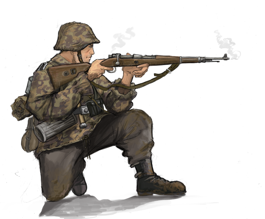 Drawn snipers wehrmacht On Marcodalidingo DeviantArt Bidass by