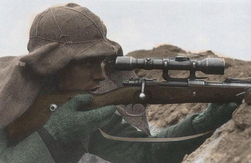 Drawn snipers wehrmacht [ school sniper A in