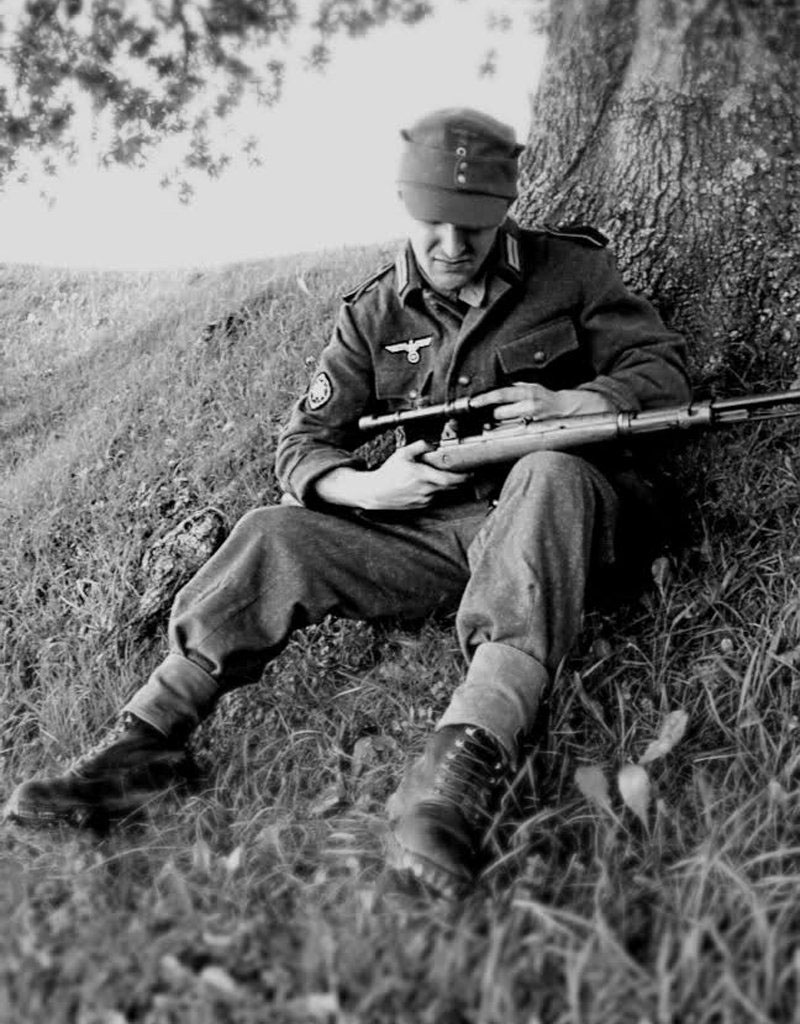 Drawn snipers wehrmacht Scoped Soviet rifle rifle sniper