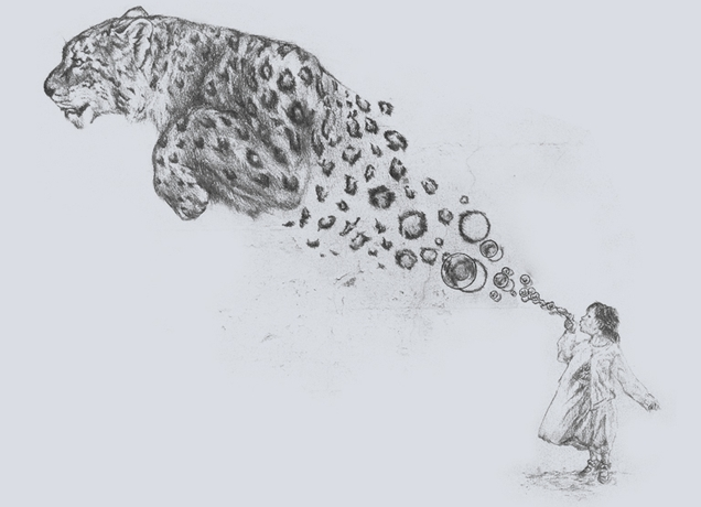 Drawn snow leopard baby Snow leopard photo#5 drawing Baby