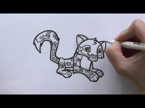 Drawn snow leopard cartoon Leopard To to How Jam