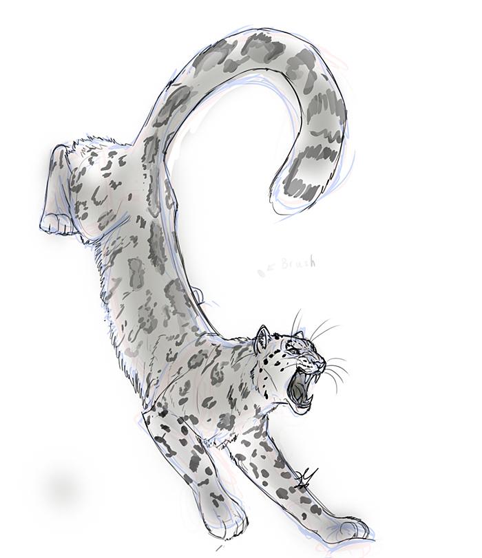 Snow Leopard clipart amur leopard Leopard @deviantART com  deviantart
