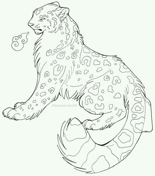 Drawn snow leopard pinterest On desenho Pin Snow para