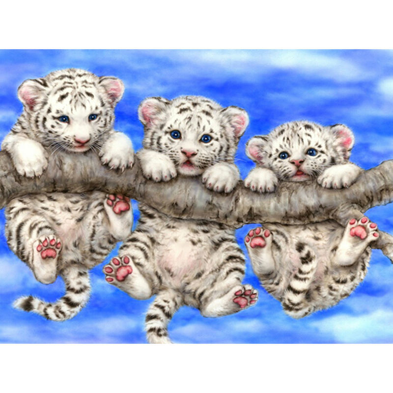 Drawn snow leopard tree drawing Prices Shopping/Buy Embroidery Tree
