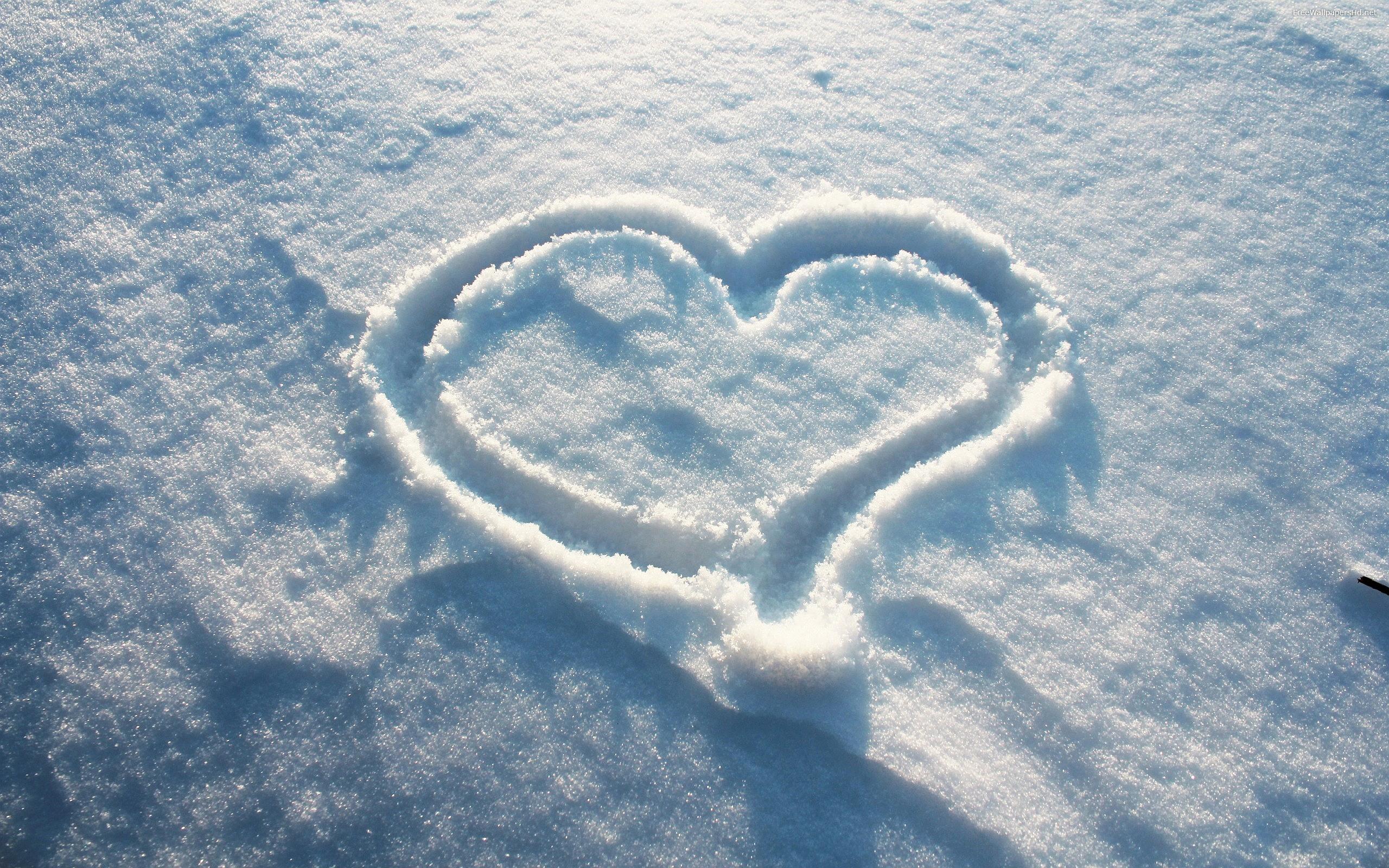 Drawn snow walpaper « Wallpapers Snow Snow Heart