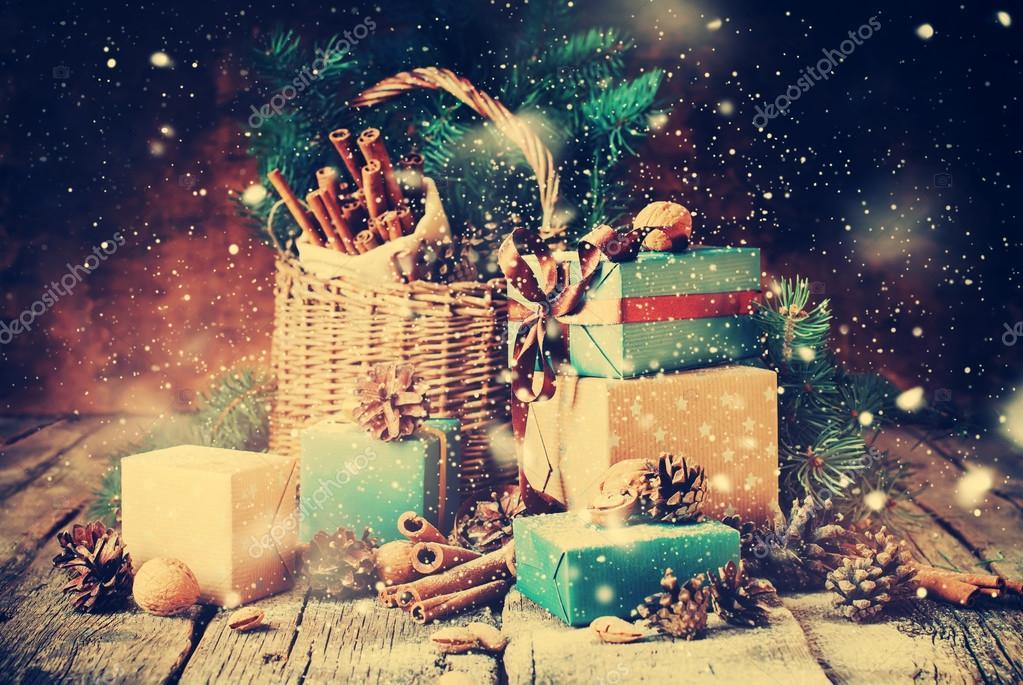 Drawn snowfall Photo Stock Snowfall Stock Gifts