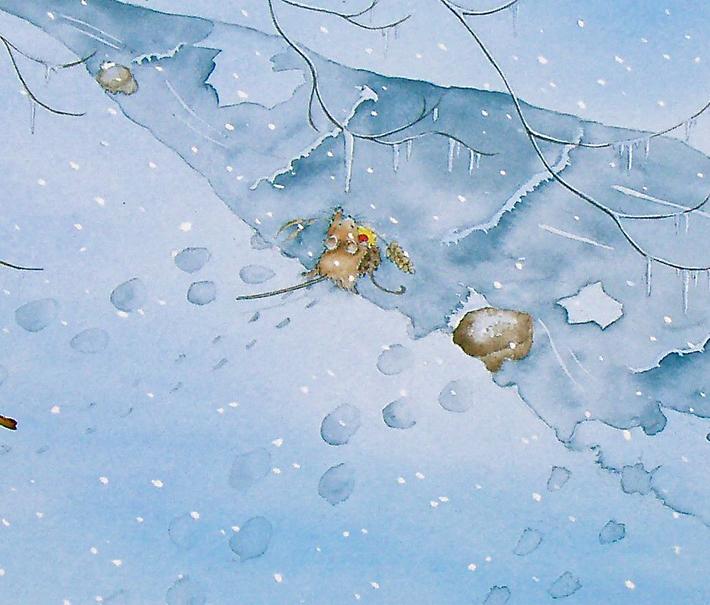Drawn snowfall How Learn to Wonderland! Draw
