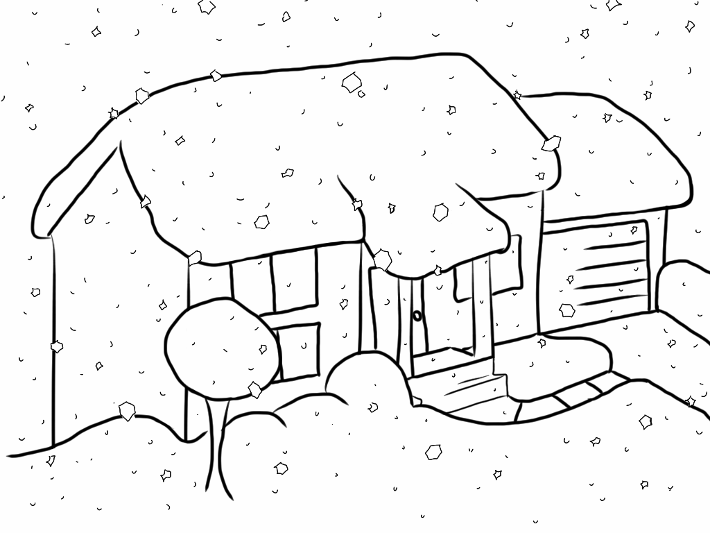 Drawn snowfall By DeviantArt by on epicpoodle