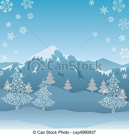 Drawn snowfall ice mountain Snow Snow Illustration graphic mountain