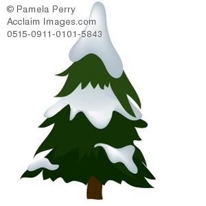 Pine Tree clipart many tree Panda Tree Clipart Snowy Clipart