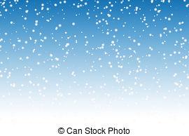 Drawn snowfall snowy Snow falls and falls