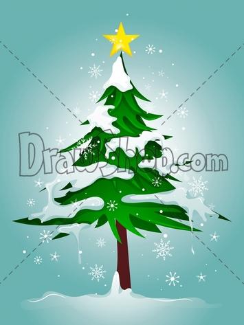 Drawn snowfall snowy Tree Snowy Snow Drawing Tree