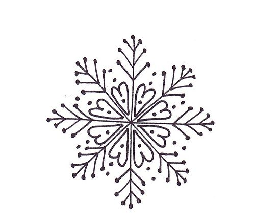 Drawn snowflake cute On pretty so 25+ would