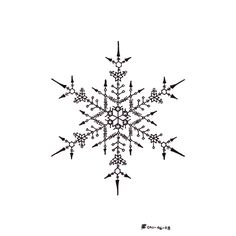 Drawn snowflake small Flakes  Snow Flakes Snowflakes