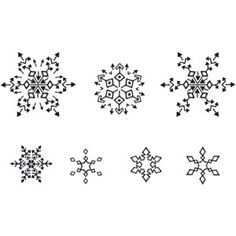 Drawn snowflake small Snowflake Snowflake Best tattoos Small